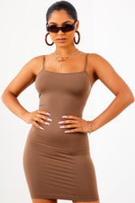 Love Struck Dress - Mocha