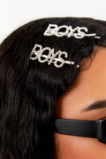 Boys Diamond Hairpin