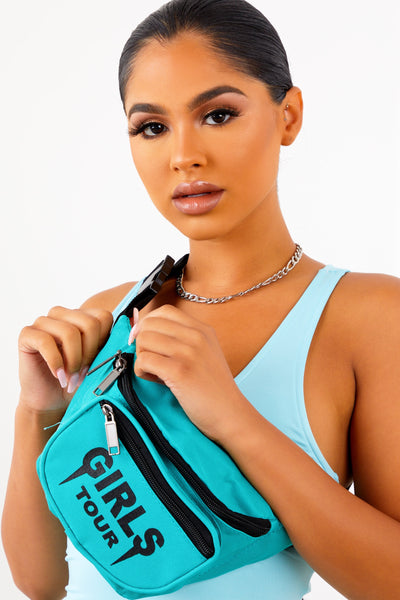 Girls Tour Fanny Pack Teal/Black