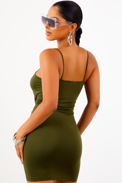 Love Struck Dress - Olive