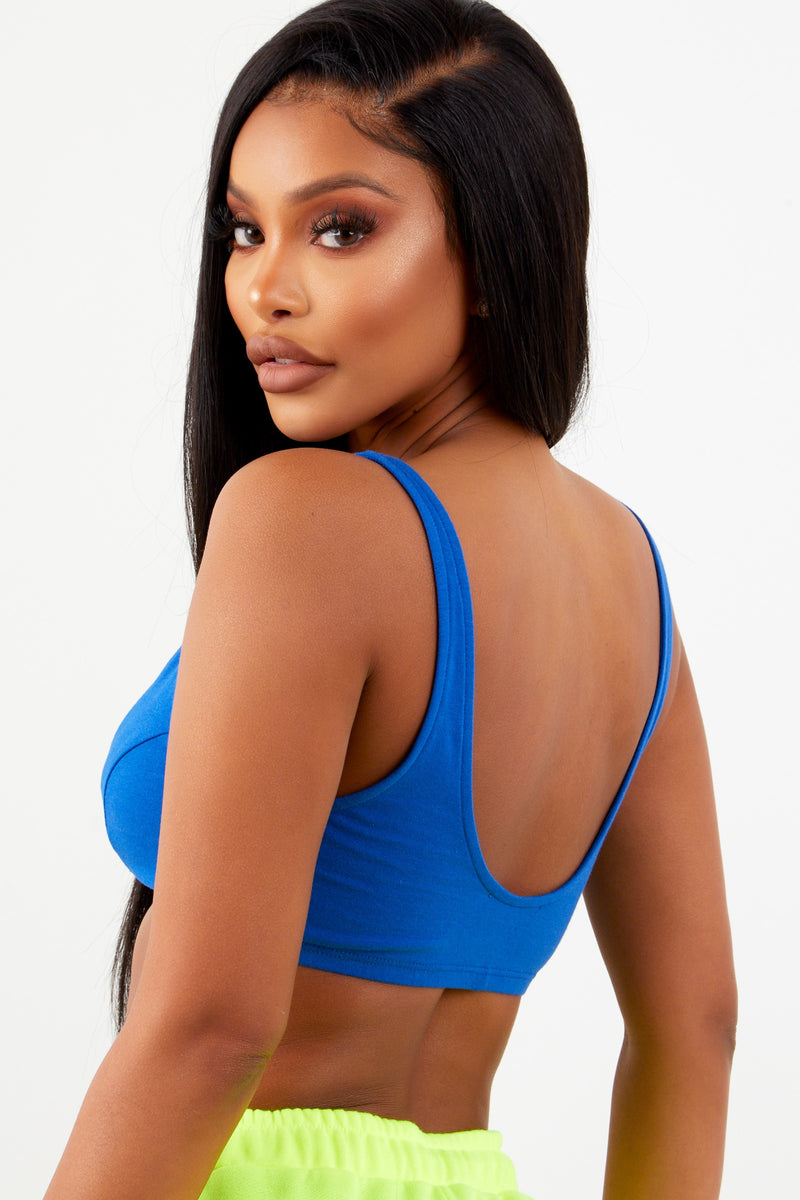 Sorella Royal Blue Basic Bralette