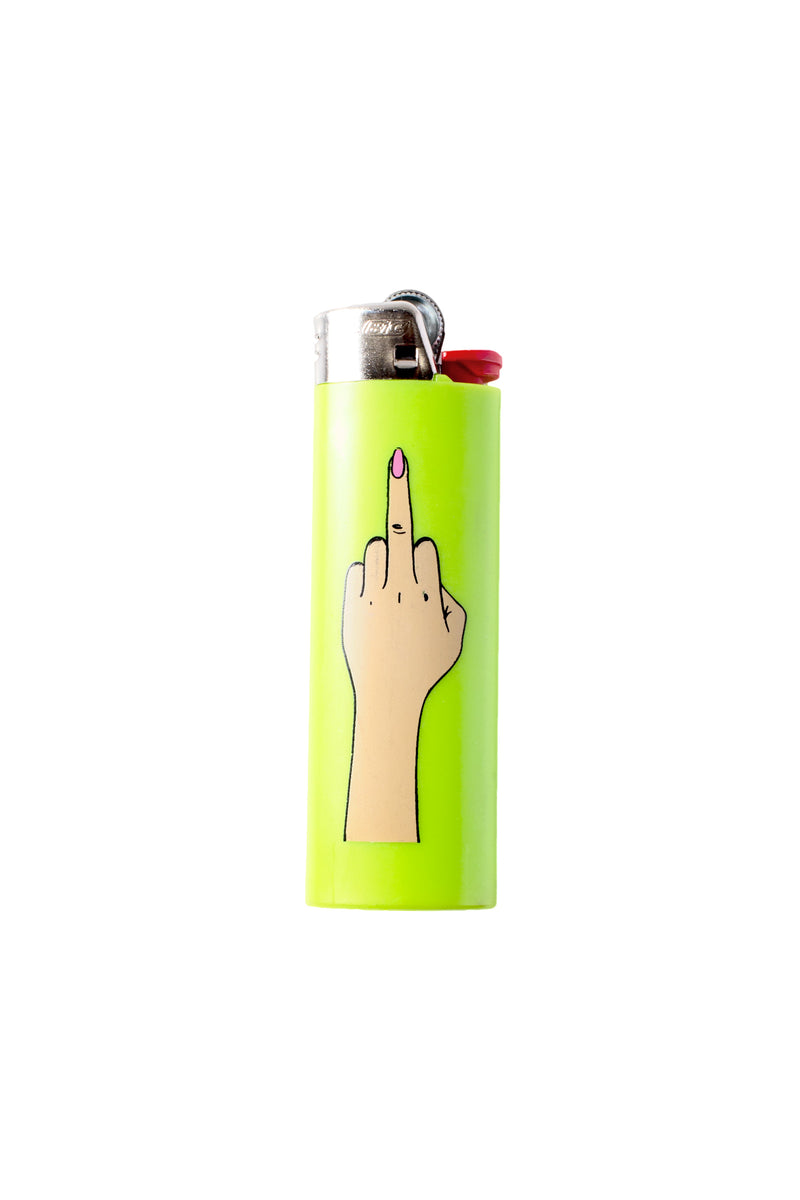 Sorella Middle Finger Lighter Lime