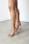 Nude Nymph Lace Up Sandal