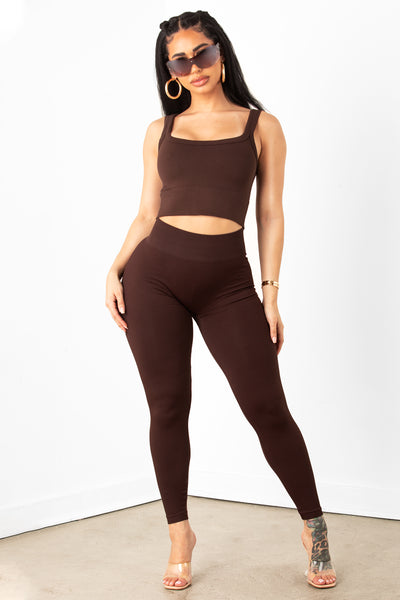 Coco Ribbed High Waist Legging