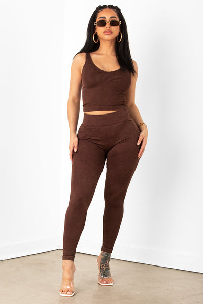 Chocolate Stretch Leggings