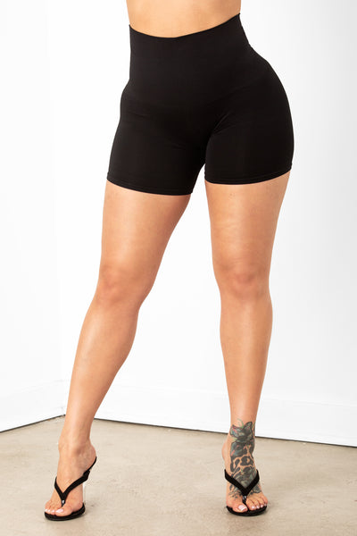 Black Shaping Shorts