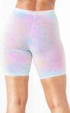 Girls Tour Cotton Candy Biker Shorts