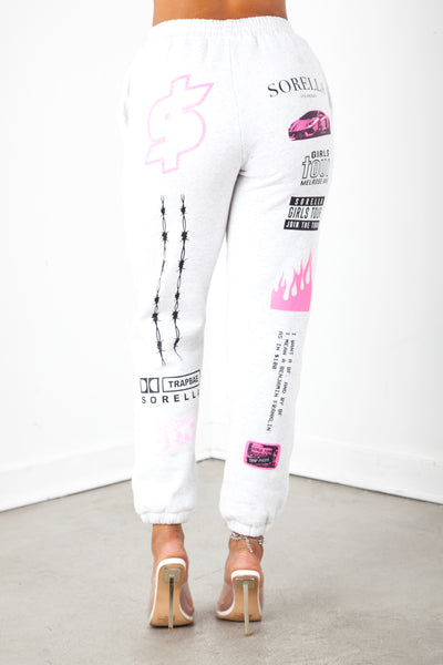 Girls Tour Designer Logo Sweats
