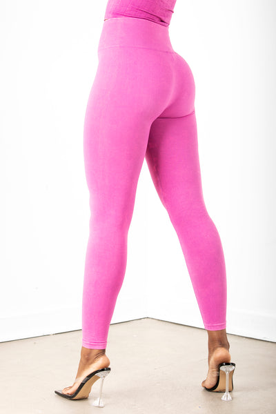 Berry High Waist Leggings