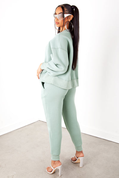 Light Green Sweatpants