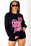Defect Girls Tour Airbrush Crewneck