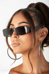 Black After Hour Square Sunglasses