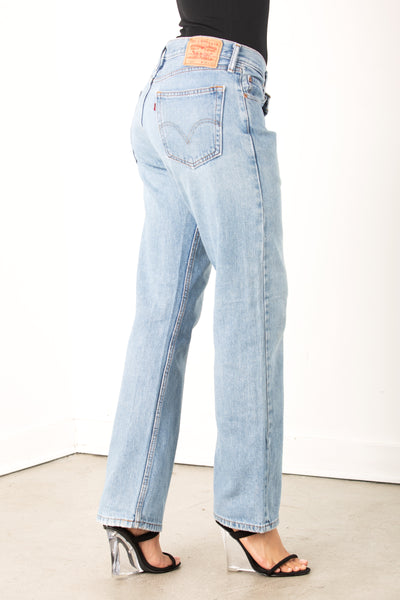 Vintage Crossed Levi Jean Blue