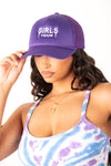 Girls Tour Trucker Purple