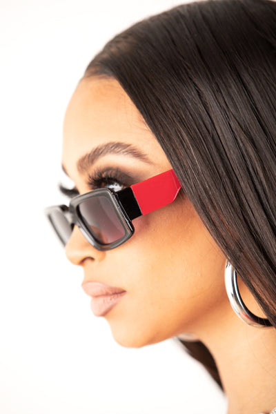 Red Rules Sunglasses