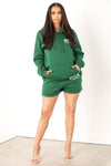 Green Og Girls Tour Sweat Shorts