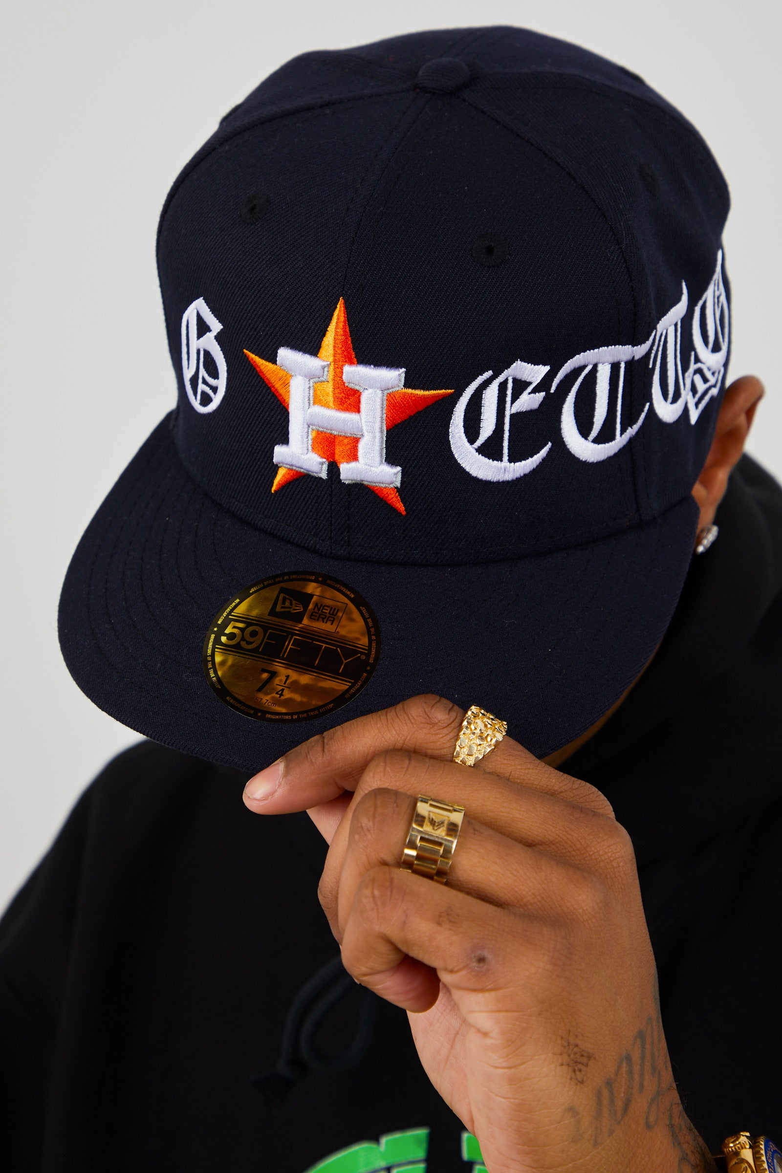 "SWISH ""GHETTO"" FITTED CAP"