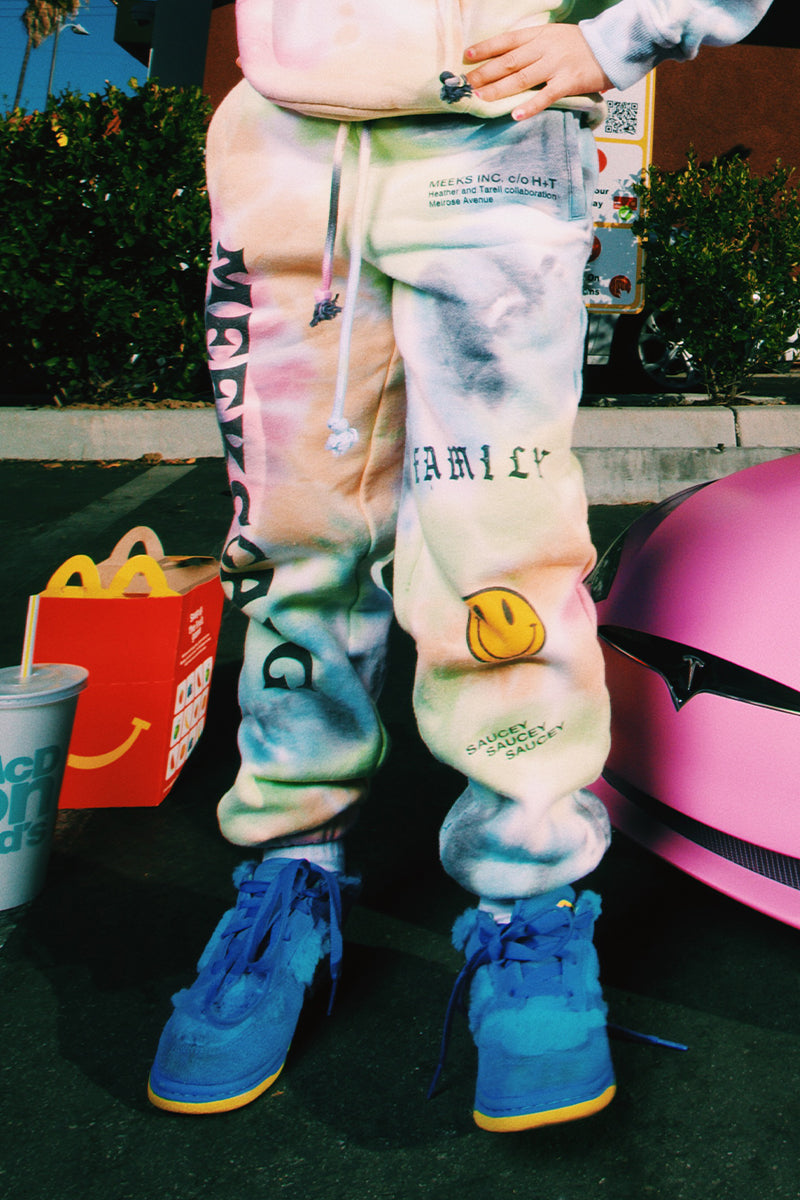 Meeks Gang Tie-Dye Kids Sweats