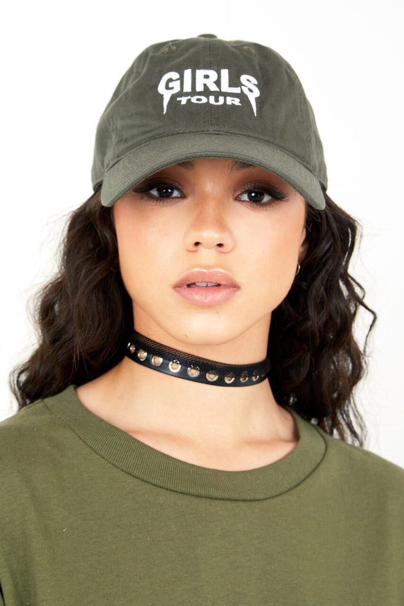 Girls Tour Hat - Olive