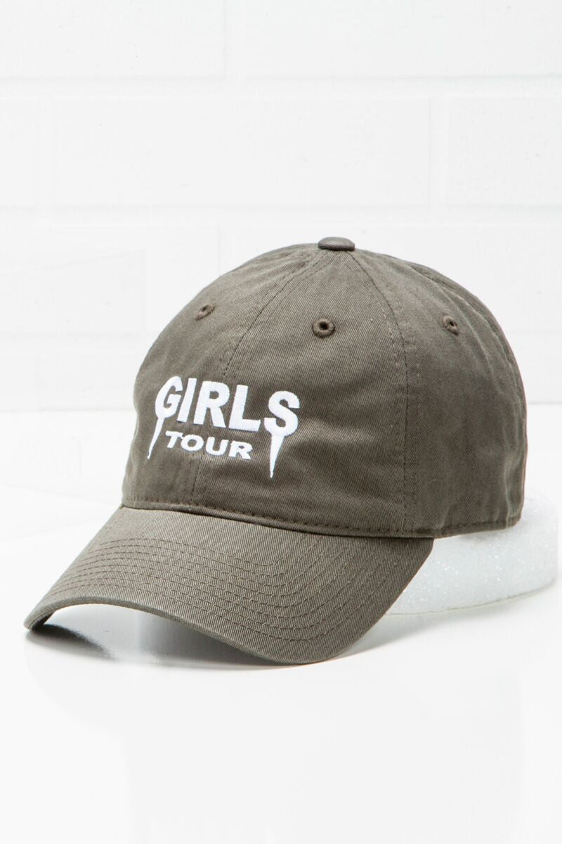 Girls Tour Hat -Olive