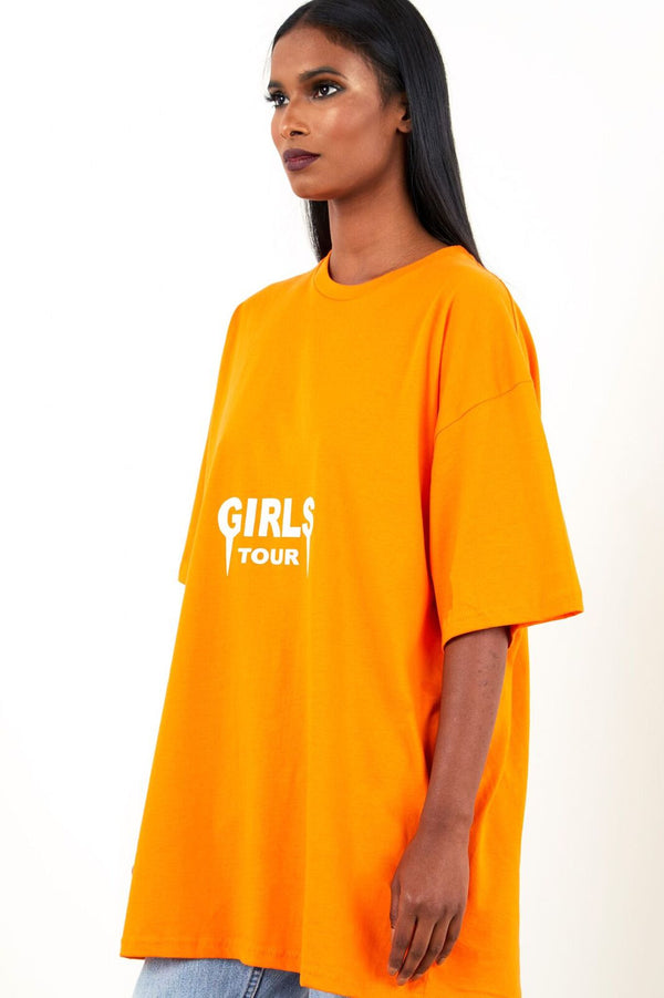 OG Girls Tour Tee Orange