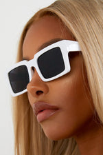 Saw-C Sunglasses - White