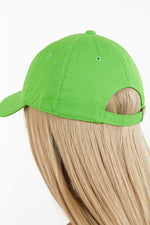 Girls Tour Hat - Lime