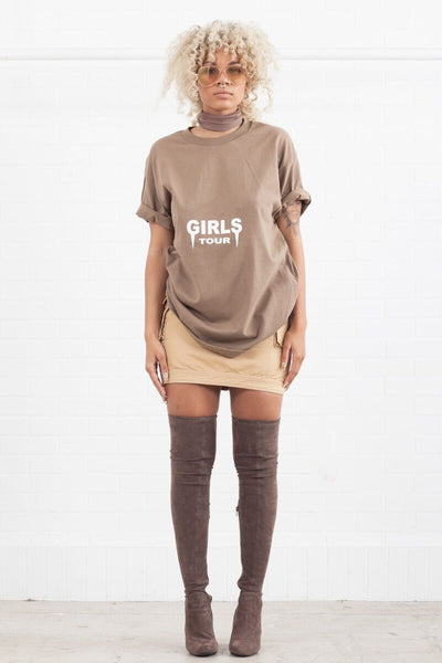 OG Girls Tour Tee - Dark Tan