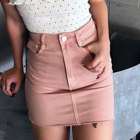 PINK ICING SKIRT