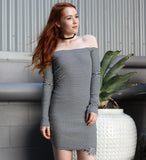 AVERY OFF SHOULDER DRESS
