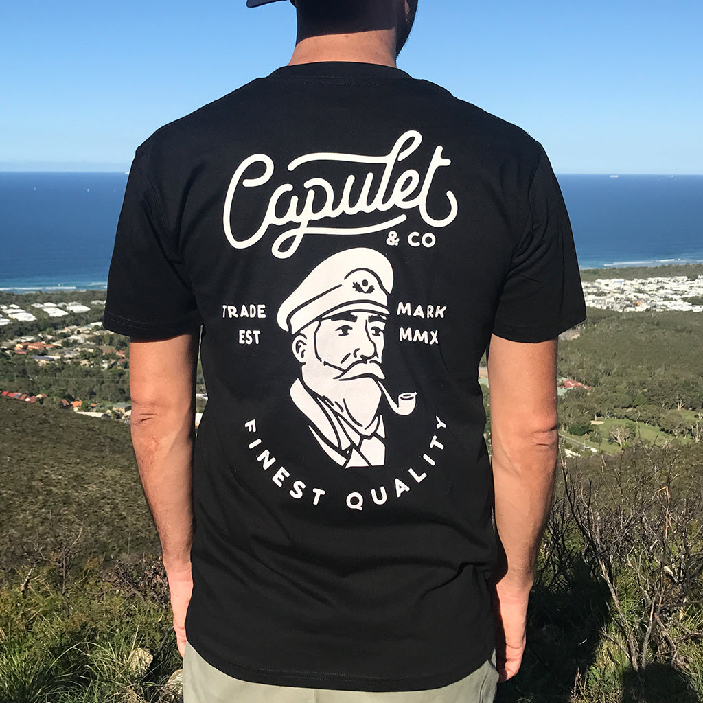 FINEST QUALITY CAPTAIN TEE
