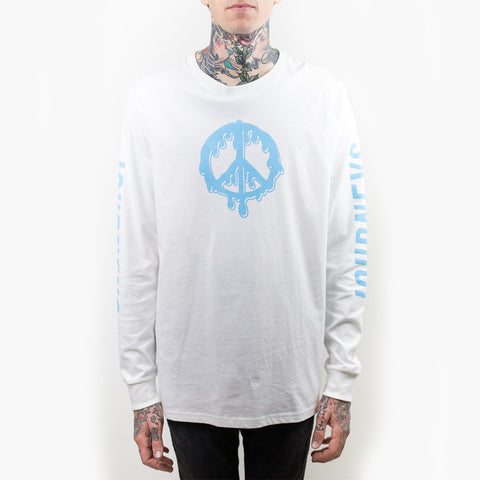 DRIPPING PEACE LONGSLEEVE