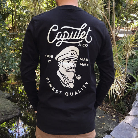 FINEST QUALITY CAPTAIN LONGSLEEVE