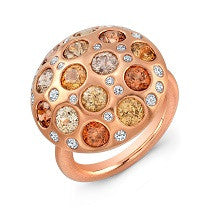 Bespoke Rose Gold Celestial Ring