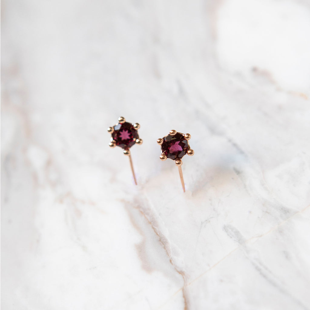 Modern Crown Earring