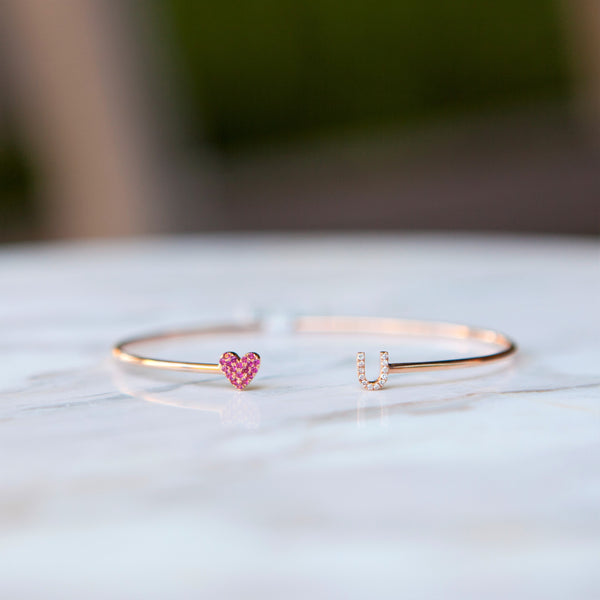 The I Love You Bangle
