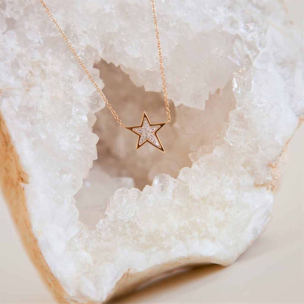 Shooting Star Diamond Necklace