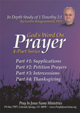 God's Word on Prayer