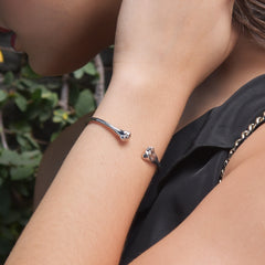 Humeral Bracelet - Model View - DoMo Jewelry