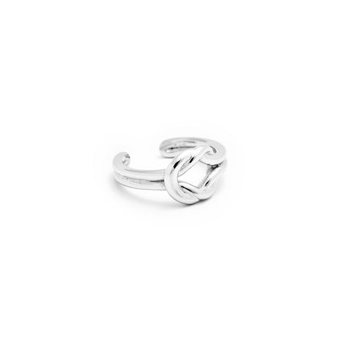 Knot Ring - Isometric View - DoMo Jewelry