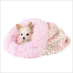 Chihuahua inside dog cuddle cup
