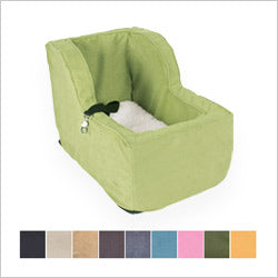 Green Hi-Back Console Dog Car Seat