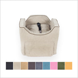 Small Micro-suede Lookout Dog Car Seat