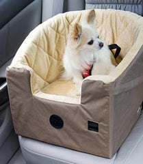 Chihuahua in K&H Bucket Booster Dog Car Seat