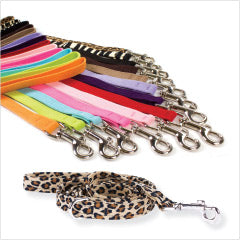 Susan Lanci Ultrasuede Dog Leashes