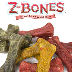 Zukes Z-Bones dog dental treats