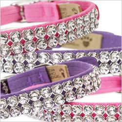 bling crystal collars