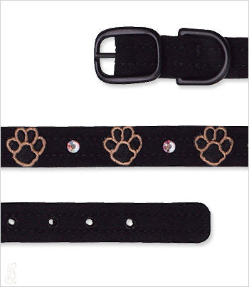 Dog Collar with Paws
