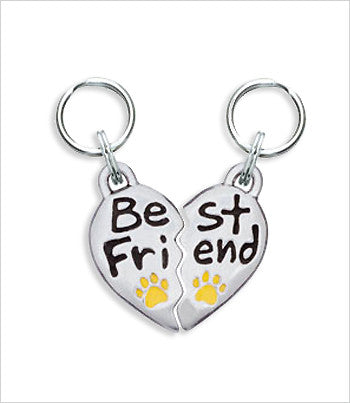 best friends dog charm