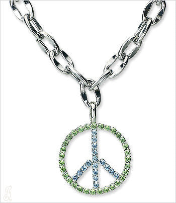 Crystal Peace Pendant